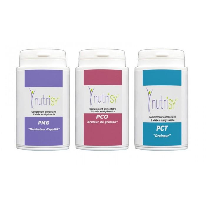Pack 3 Gélules PMG-PCT-PCO